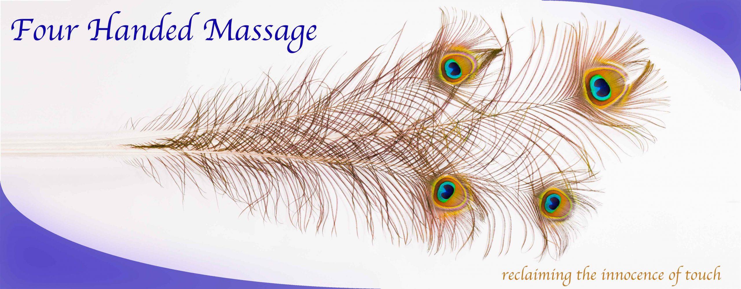 Four Handed Massage Banner