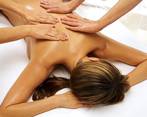 Four Handed Massage for Women