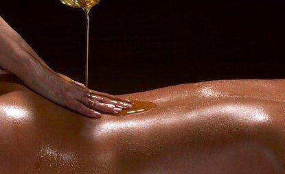 Massage Oiling Ritual